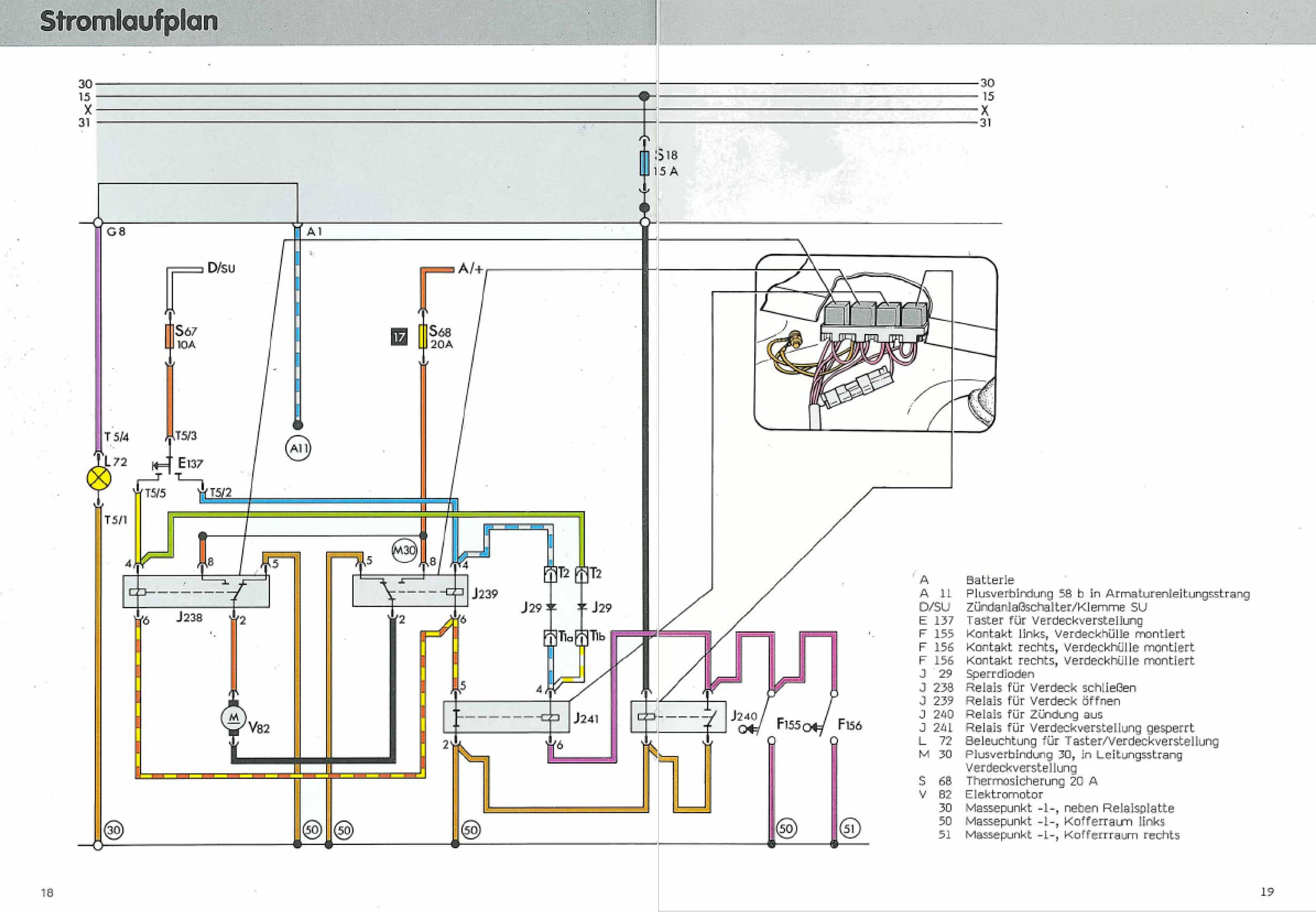 Golf 4 schaltplan beleuchtung wiring diagram golf 4 zentralverriegelung schaltplan pdf wiring diagram verwandte suchanfragen zu. Datei Stromlaufplan E Verdeck Jpg Golf 1 Und Golf Cabrio Wiki