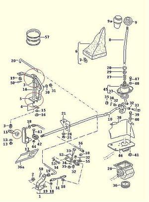 schaltgest nge reparatursatz golf 1 und golf cabrio wiki. Black Bedroom Furniture Sets. Home Design Ideas