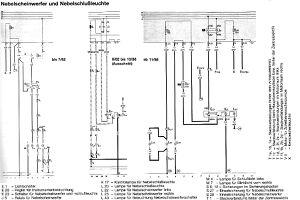 zusatz stromlaufplan nebelscheinwerfer schlussleuchte. Black Bedroom Furniture Sets. Home Design Ideas
