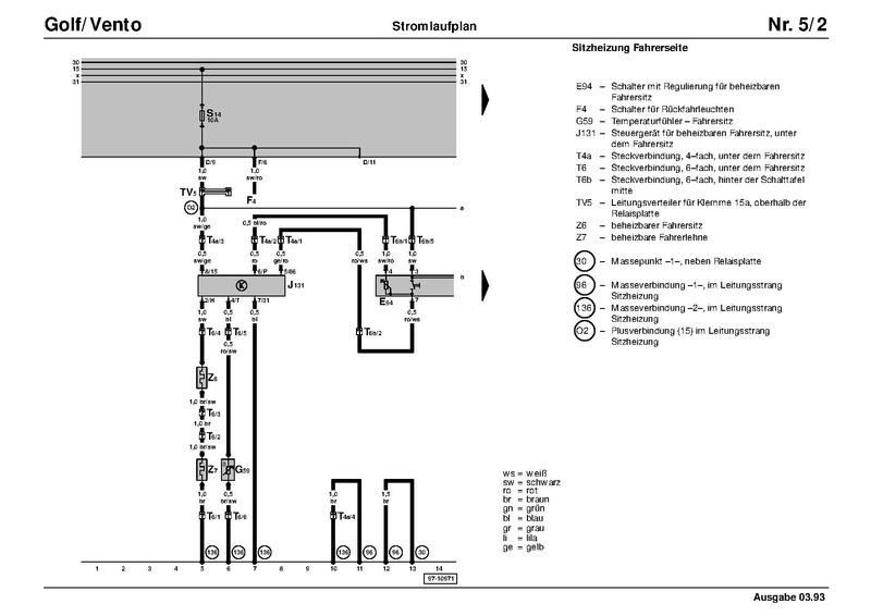 Datei:Schaltplan G1C Sitzheizung 91.pdf – Golf 1 und Golf Cabrio Wiki