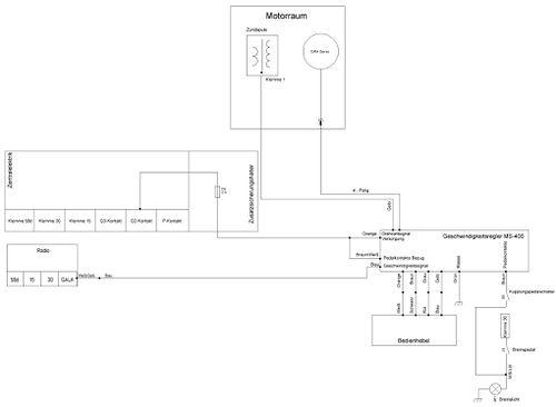 waeco ms 400 gra mit original bedienhebel golf 1 und golf cabrio wiki. Black Bedroom Furniture Sets. Home Design Ideas